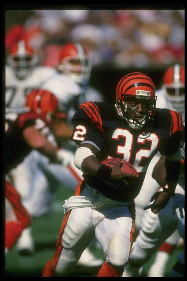 The Goats10. Stanley Wilson (Super Bowl XXIII) The night before the Super Bowl, Bengals running back Stanley Wilson was caught using cocaine in his Miami hotel room. He was suspended immediately, and the 49ers came back for a tremendous 20-16 win the next day. Wilson, however, never did. It was his third and final drug violation, and he was suspended from the NFL for life. Photo: Allen Steele, Getty Images / Getty Images North America