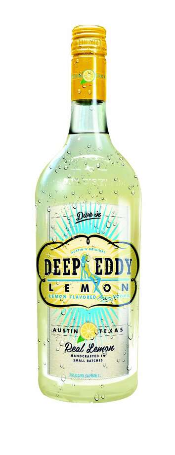 A new  lemon flavor is added to its line of flavored vodkas. Photo: Deep Eddy Vodka / Deep Eddy Vodka