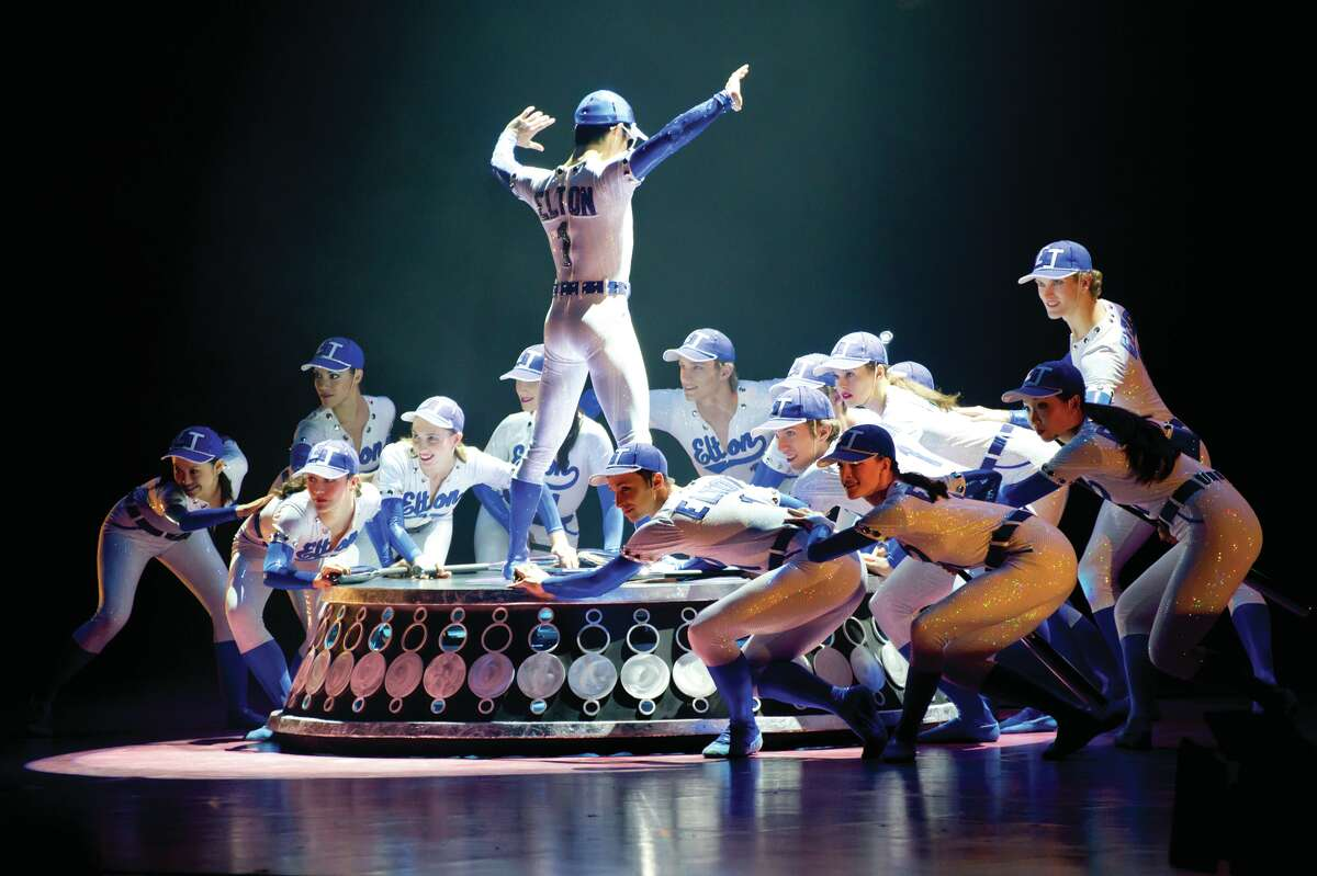 """""""Love Lies Bleeding,"""" choreographed to 14 iconic songs by Elton John and Bernie Taupin, features riotous costumes by Martine Bertrand."""