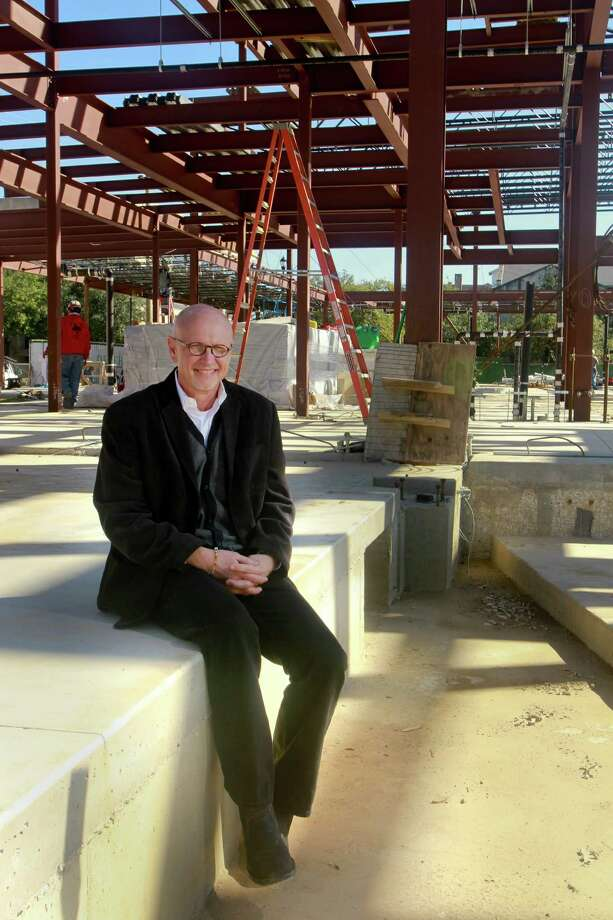 Chuck Still, who is in his first month as executive director of the Midtown Arts and Theater Center Houston (MATCH), at their construction site. The new cultural center for small and mid-sized arts organizations, is designed by Lake|Flato and StudioRed Architects, and is scheduled for completion this fall. (For the Chronicle/Gary Fountain, January 19, 2015) Photo: Gary Fountain, Freelance / Copyright 2015 by Gary Fountain