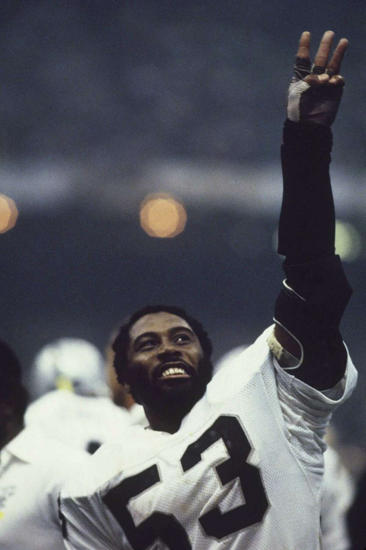 Rod Martin, Super Bowl XV The Raiders linebacker arguably had a case for MVP honors after snagging a Super Bowl-record three interceptions in Oakland's 27-10 win over Philadelphia.