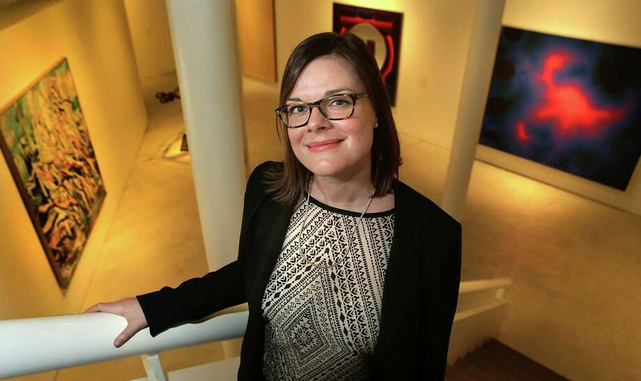 """I've always been interested in artists that deal with issues that are politically, culturally and socially relevant,"" said Anna Stothart, who begins work at the museum next month. Photo: Bob Owen /San Antonio Express-News / © 2014 San Antonio Express-News"