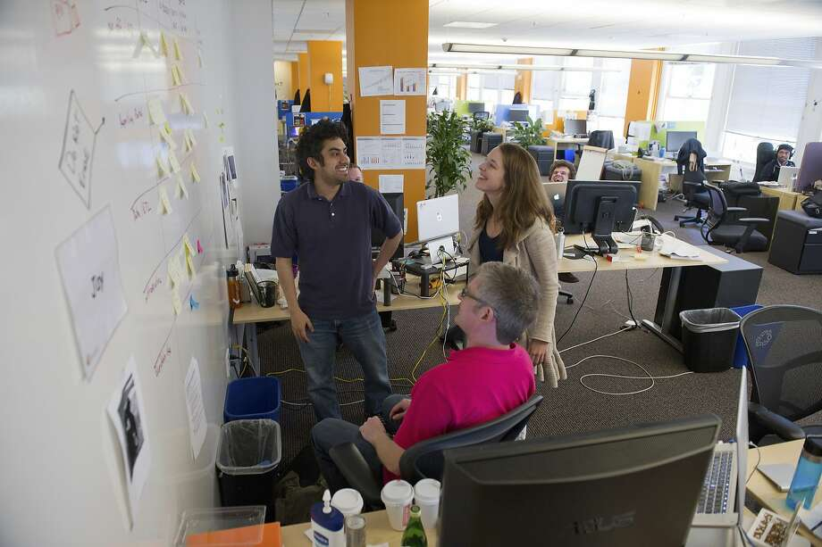 The staff of Castlight Health Inc. work in at the company's headquarters in San Francisco, California, U.S., on Friday, May 18, 2012. Photographer: David Paul Morris/Bloomberg Photo: David Paul Morris, Bloomberg