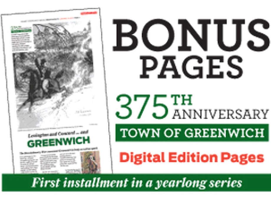 Greenwich 375th anniversary print promo for E-edition bonus pages Photo: File Photo / Greenwich Time File Photo