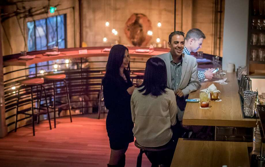 The upper bar at Cockscomb in S.F. specializes in gin. Photo: John Storey, Special To The Chronicle