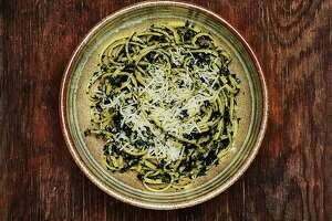 Pasta With Kale & Lemon Confit - Photo
