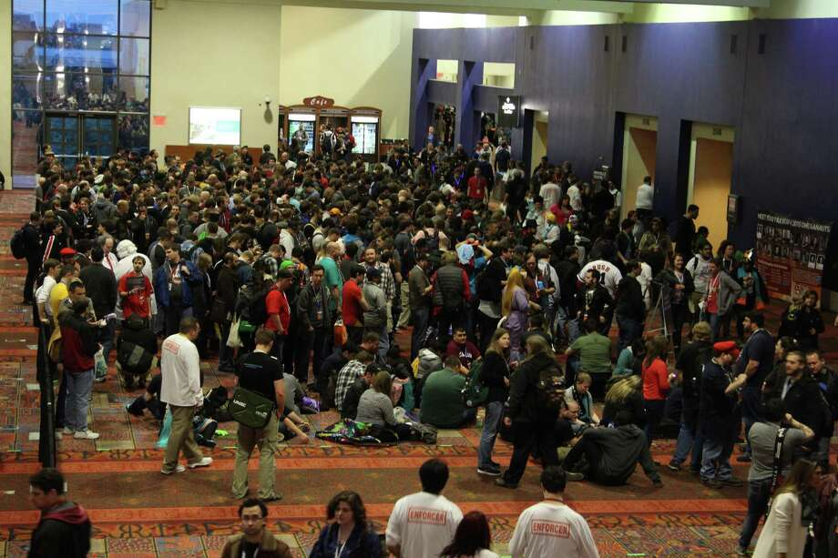 Highlights from Friday, January 23, night one of PAX South, the first Penny Arcade Expo held in this part of the country. Photo: Tyler White