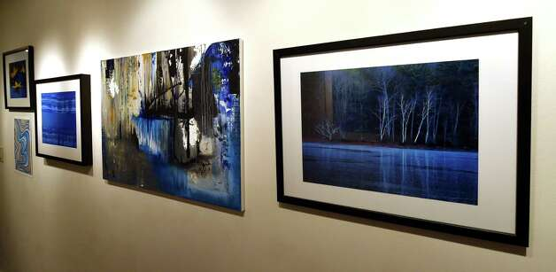 Some of the more than 100 pieces for the Spring Street Gallery show Wednesday afternoon, Jan. 21, 2015, in Saratoga Springs, N.Y.      (Skip Dickstein/Times Union) Photo: SKIP DICKSTEIN / 00030296A