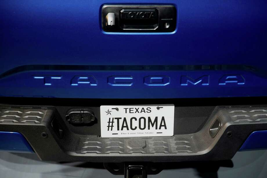 This year's Best Resale Value Awards shows that the 2015 model-year midsize Tacoma pickup will retain 74.9 percent of its value at 36 months and 60.4 percent at 60 months. KBB announced the awards Friday. Photo: Andrew Harrer /Bloomberg News / © 2015 Bloomberg Finance LP