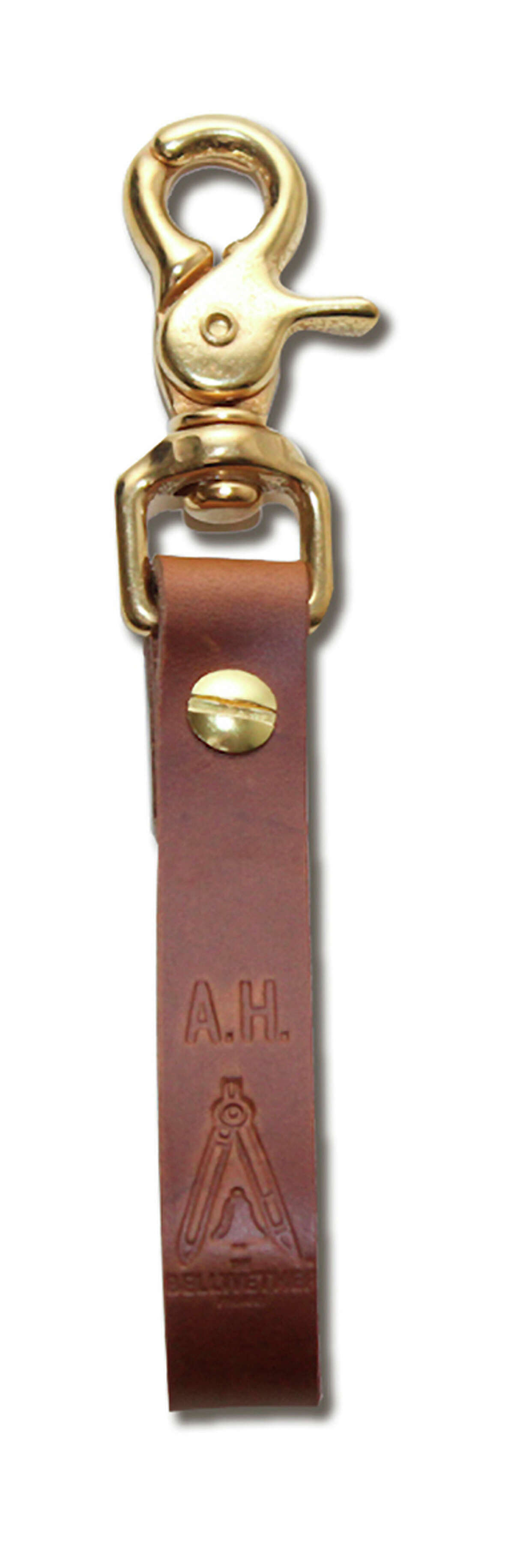 Key fob, $30, and other goods made in collaboration with Aegis Handcraft.