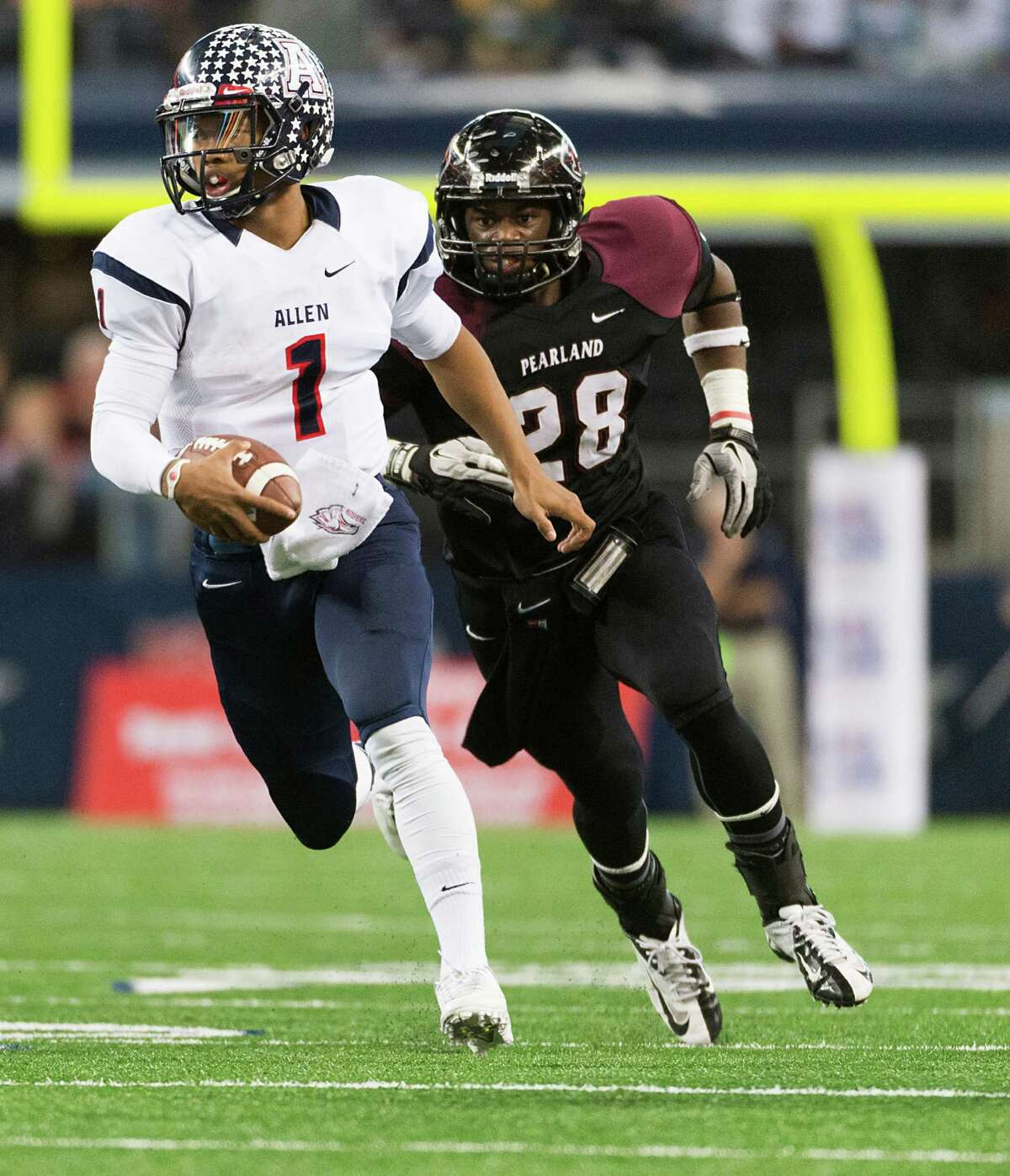 According to his Twitter account, QB Kyler Murray, who won three state titles at Allen, is headed to Texas A&M after all.