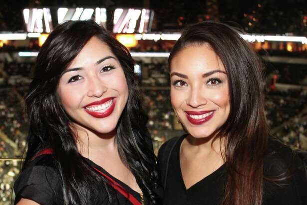 Fans enjoyed the Spurs victory over the Lakers at AT&T Center on Friday, January 23, 2015. This is the first in a six-game homestand for the Spurs.
