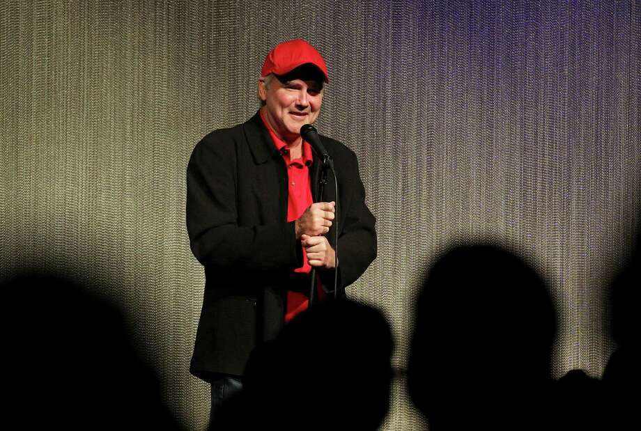Comedian and former 'Saturday Night Live' performer Norm Macdonald entertains a crowd at Laugh Out Loud Comedy Club on Friday in San Antonio. Photo: Kin Man Hui /San Antonio Express-News / ©2015 San Antonio Express-News
