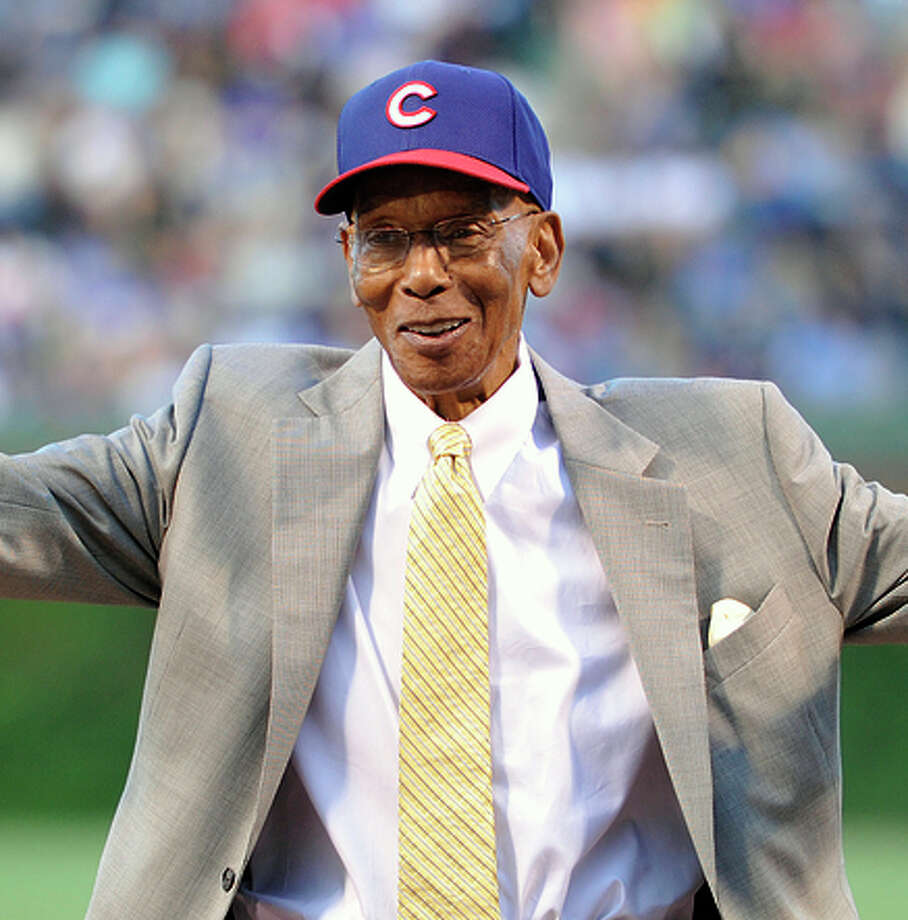 Ernie Banks hit 512 home runs during a Hall-of-Fame career with the Cubs. Photo: Jim Prisching / Associated Press / FR59933 AP