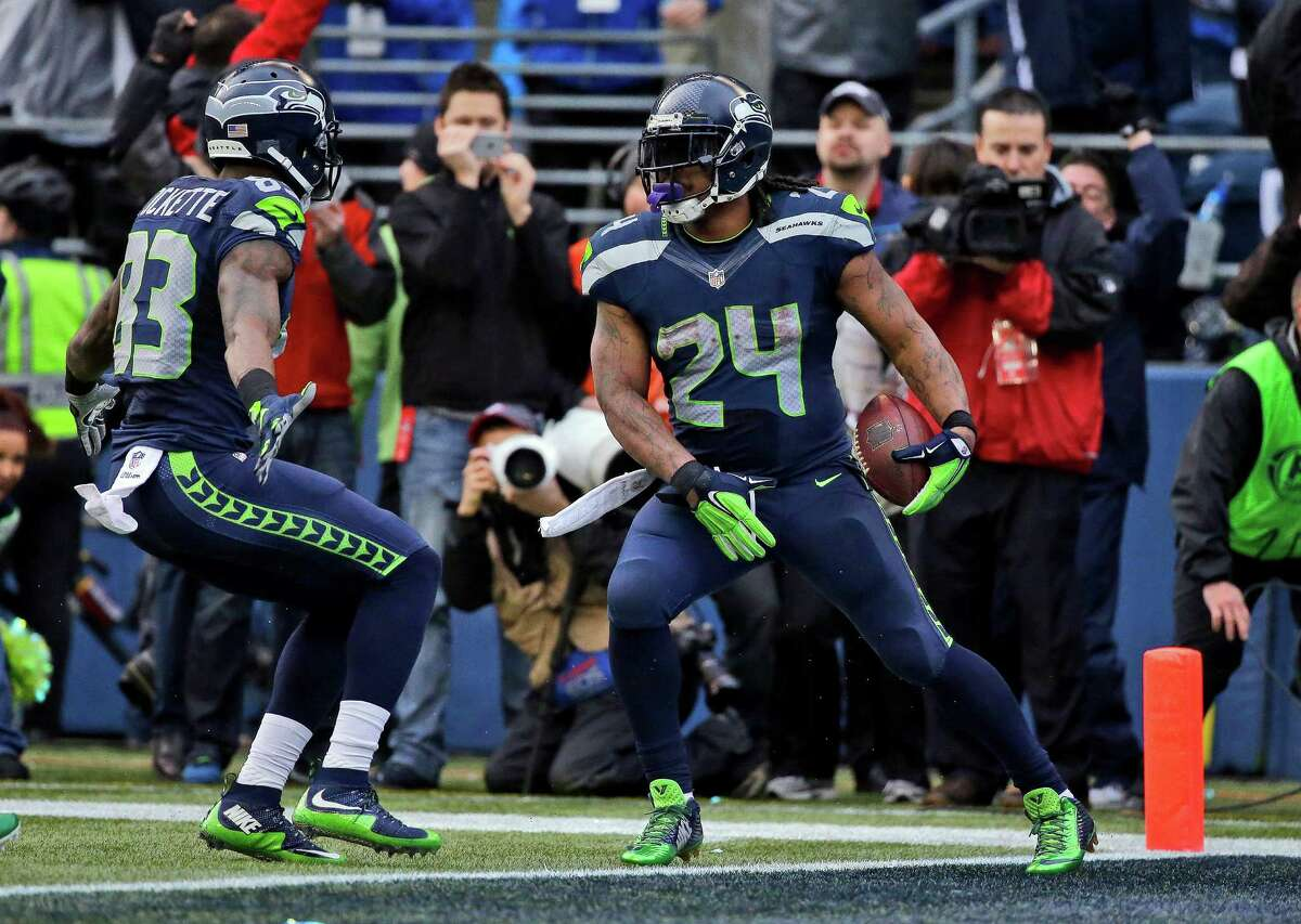 Will Marshawn Lynch grab his crotch after scoring a TD in the game? Yes +400 (4/1) No -600 (1/6)\>