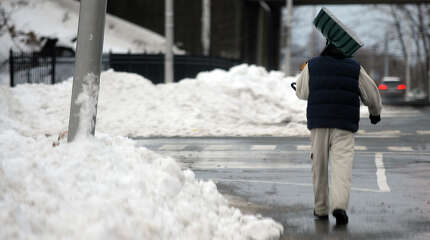 """The city of Bridgeport has seen an increase in the number of trip and fall cases. """"Weather is the basis for a lot of these claims,"""" said Brett Broesder, a spokesman for Mayor Bill Finch's office. """"It's worth noting that 2013 was an extraordinarily difficult winter, which may have resulted in more claims in 2014."""""""