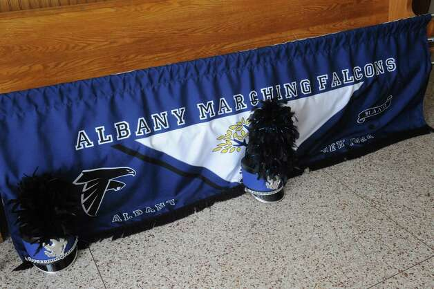 A fundraiser was held for the Albany Marching Falconsa€™ efforts to raise funds for their upcoming trip to Ireland at the Albany Ancient Order of Hibernians Hall on Saturday Jan. 24, 2015 in Albany, N.Y. The group is heading to Ireland in March and will perform in the St. Patricka€™s Day parade in Dublin. To contribute visit http://www.gofundme.com/dil98s. You also can send a check made out to Albany Marching Falcons, c/o Bryan Cady, Albany School of Humanities, 108 Whitehall Road, Albany, NY 12209. (Michael P. Farrell/Times Union) Photo: Michael P. Farrell / 00030319A