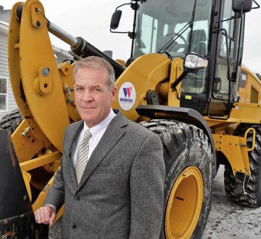 W.M. Schultz Construction CEO Bill Schultz outside their offices Thursday Jan. 22, 2015, in Ballston Spa, NY.  (John Carl D'Annibale / Times Union) Photo: John Carl D'Annibale / 00030304A