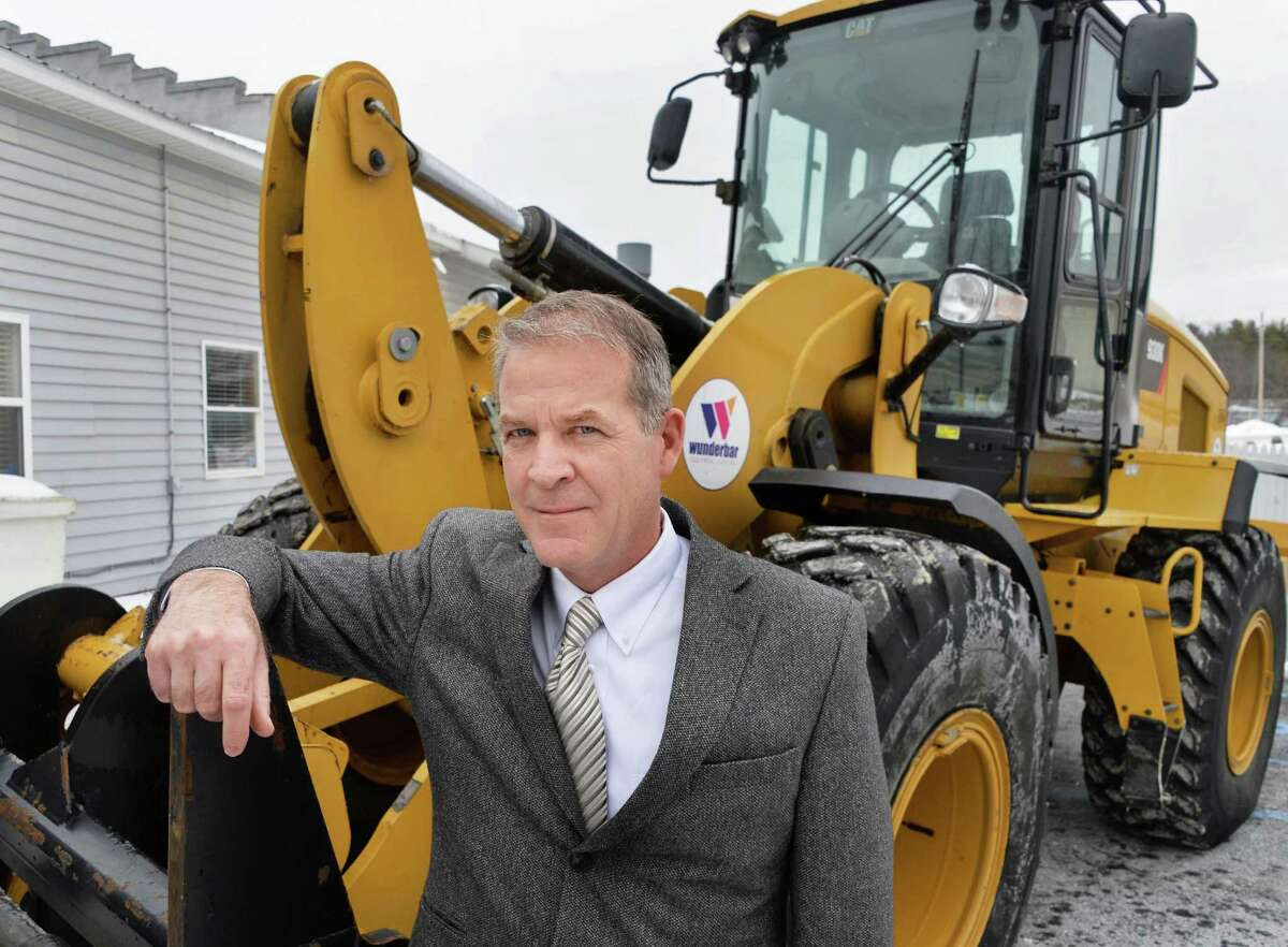 W.M. Schultz Construction CEO Bill Schultz outside their offices Thursday Jan. 22, 2015, in Ballston Spa, NY. (John Carl D'Annibale / Times Union)