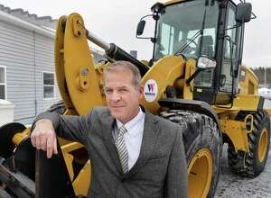W.M. Schultz Construction CEO Bill Schultz outside their offices Thursday Jan. 22, 2015, in Ballston Spa, NY.  (John Carl D'Annibale / Times Union)