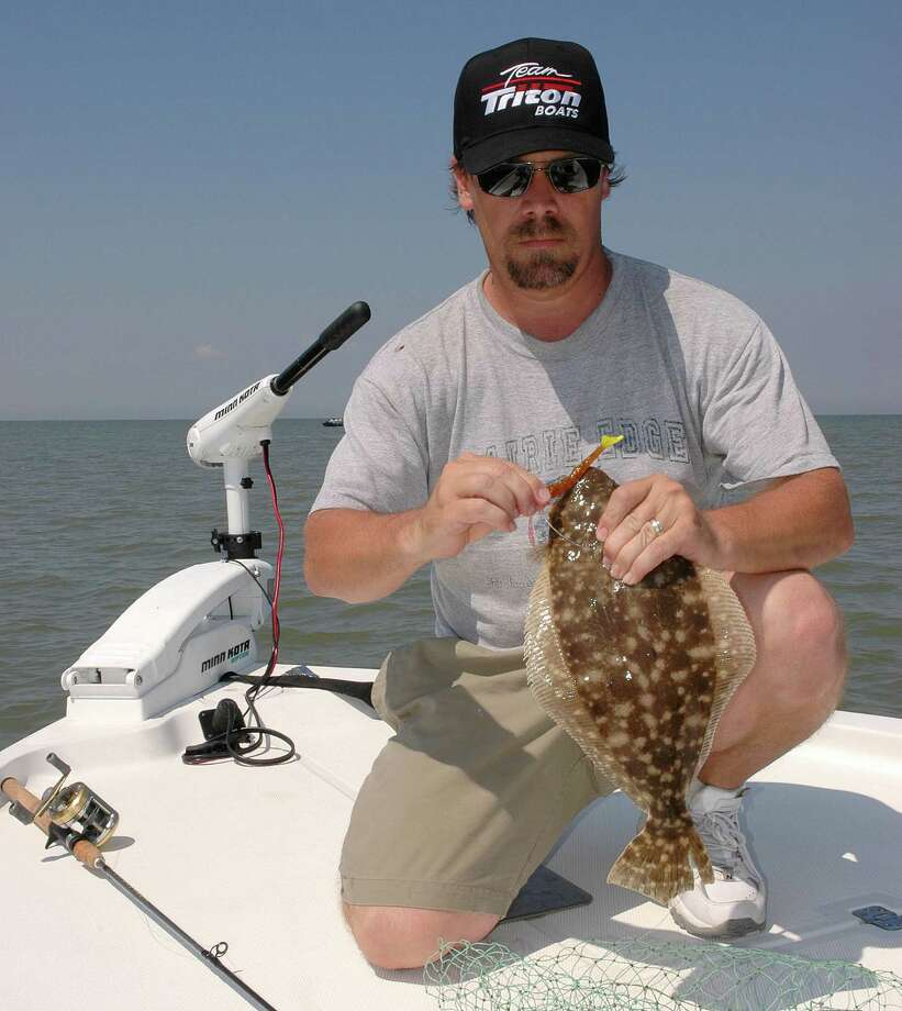 Texas coastal fisheries scientists are working on ways to produce more flounder in marine hatcheries, stocking fingerlings into bays to enhance flounder populations that have struggled with declines over the past three decades. Photo: Shannon Tompkins / Houston Chronicle