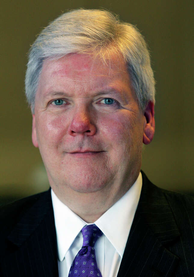 John McKeon, president and publisher of the San Antonio Express-News, has been named president and publisher of the Houston Chronicle. Photo: File Photo / Express-News / © 2012 San Antonio Express-News MAGS OUT; TV OUT; NO SALES; SAN ANTONIO OUT; AP MEMBERS ONLY; MANDATORY CREDIT; EFE OUT