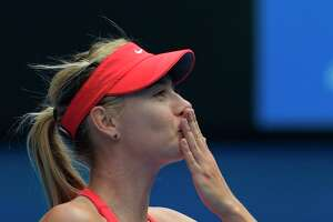 Australian Open results, Jan. 24: Sharapova, Bouchard advance - Photo