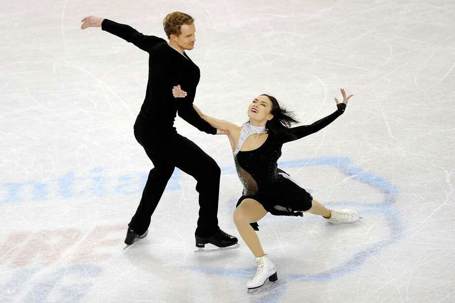GREENSBORO, NC - JANUARY 24: Partners Madison Chock and Evan Bates compete in the Championship Free Dance Program Competition during day 3 of the 2015 Prudential U.S. Figure Skating Championships at Greensboro Coliseum on January 24, 2015 in Greensboro, North Carolina. (Photo by Jared C. Tilton/Getty Images) Photo: Jared C. Tilton, Stringer / 2015 Getty Images
