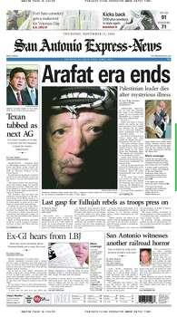 Nov. 11, 2004 Photo: Express-News File Photo