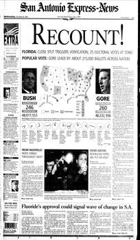 Nov. 8, 2000 Photo: Express-News File Photo