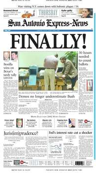 Nov. 7, 2002 Photo: Express-News File Photo