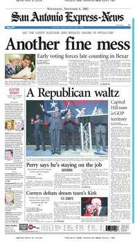 Nov. 6, 2002 Photo: Express-News File Photo