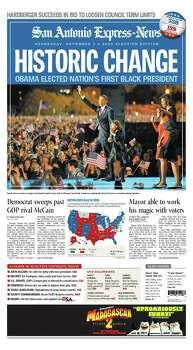 Nov. 5, 2008 Photo: Express-News File Photo