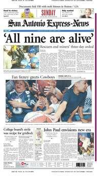 July 28, 2002 Photo: Express-News File Photo