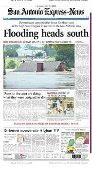 July 7, 2002 Photo: Express-News File Photo