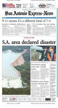July 4, 2002 Photo: Express-News File Photo