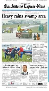 July 2, 2002 Photo: Express-News File Photo