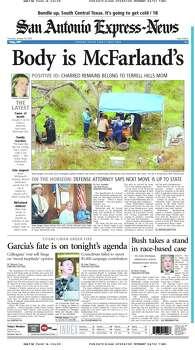 Jan. 16, 2003 Photo: Express-News File Photo