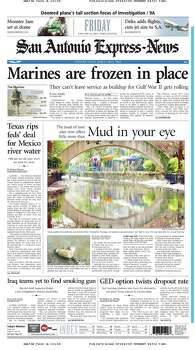 Jan. 10, 2003 Photo: Express-News File Photo
