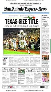 Jan. 5, 2006 Photo: Express-News File Photo