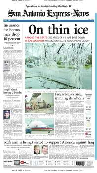 Feb. 26, 2003 Photo: Express-News File Photos