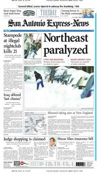 Feb. 18, 2003 Photo: Express-News File Photos