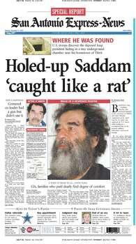Dec. 15, 2003 Photo: Express-News File Photos