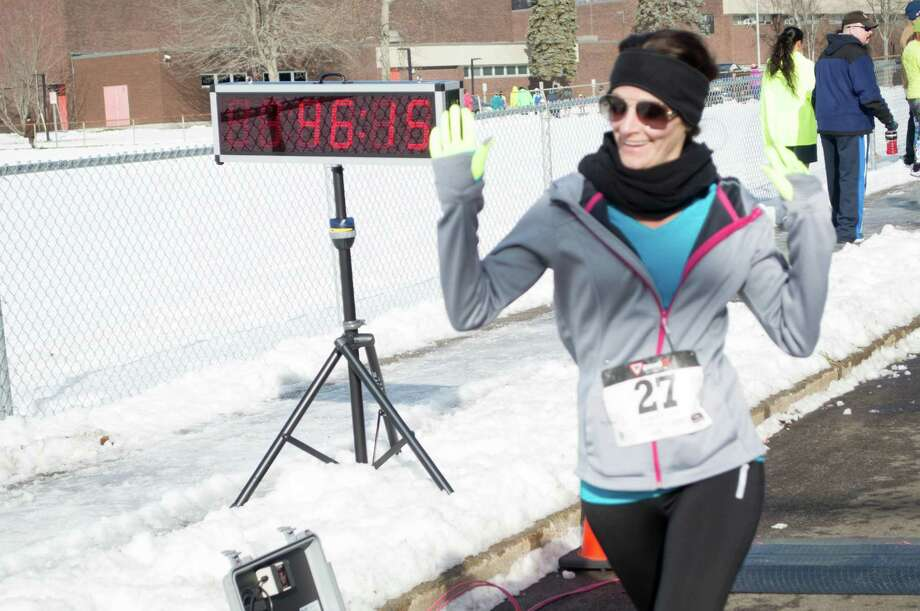 The Milford Road Runners' Winter Wonderland 5 Miler was held on January 25, 2015 at Platt Regional Tech School in Milford. Proceeds from the race went to college scholarships given out by the Milford Road Runners, a kids summer track series and other community donations. Were you SEEN? Photo: Efrain Tirando
