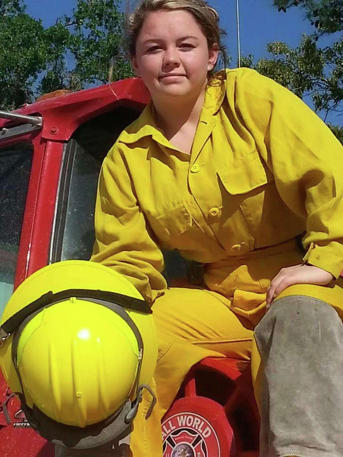 Harley Mullenix began as a junior firefighter five years ago when she was 15. She died Saturday in a car crash in Plantersville.