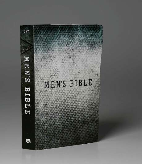 A Men's Bible photographed in the Houston Chronicle studio Tuesday, Jan. 20, 2015, in Houston.  ( James Nielsen / Houston Chronicle ) Photo: James Nielsen, Staff / © 2015  Houston Chronicle