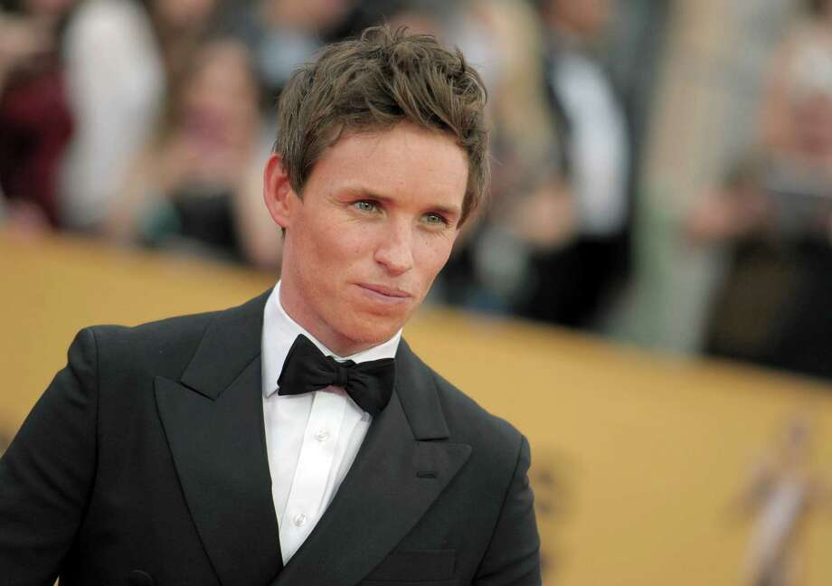 Eddie Redmayne arrives at the 21st annual Screen Actors Guild Awards at the Shrine Auditorium on Sunday, Jan. 25, 2015, in Los Angeles. (Photo by Richard Shotwell/Invision/AP) Photo: Richard Shotwell, INVL / Invision