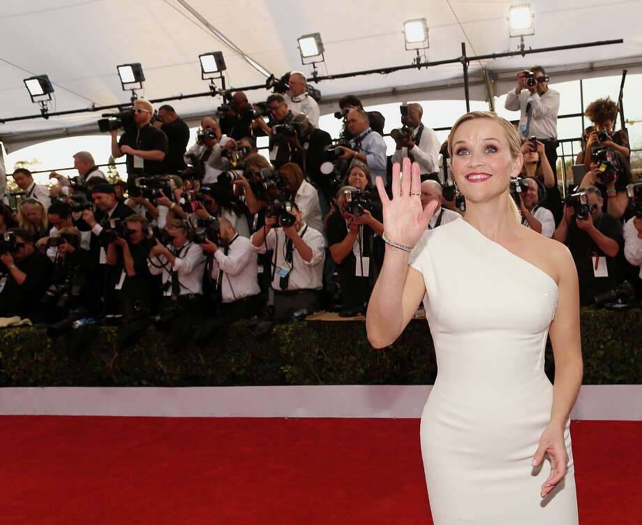 Best: Reese WitherspoonSimple and stunning  Photo: Christopher Polk, WireImage / 2015 WireImage