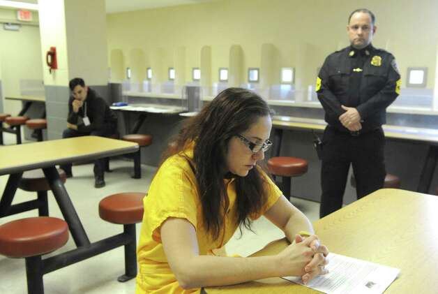 Inmate Stephanie Hope from Cohoes at the Albany County Jail on Friday Jan. 23, 2015 in Colonie, N.Y. (Michael P. Farrell/Times Union) Photo: Michael P. Farrell / 00030292A