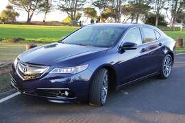 The 2015 Acura TLX. (All photos by Michael Taylor)